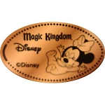 Disney Pressed Penny - Baby Minnie Laying