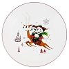 Disney Dinner Plate - Nordic Winter Mickey Holiday