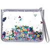 Disney Wristlet Pouch Bag - Mickey Mouse Ears Confetti
