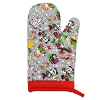 Disney Oven Mitt / Pot Holder - Nordic Winter Santa Mickey and Friends