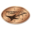 Universal Pressed Penny - Guitar Musical Notes