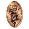 Universal Pressed Penny - Old Style Microphone