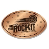 Universal Pressed Penny - Hollywood Rip Ride Rockit Logo