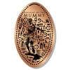 Universal Pressed Penny - Mummy Standing