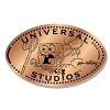 Universal Pressed Penny - Spongebob with Net