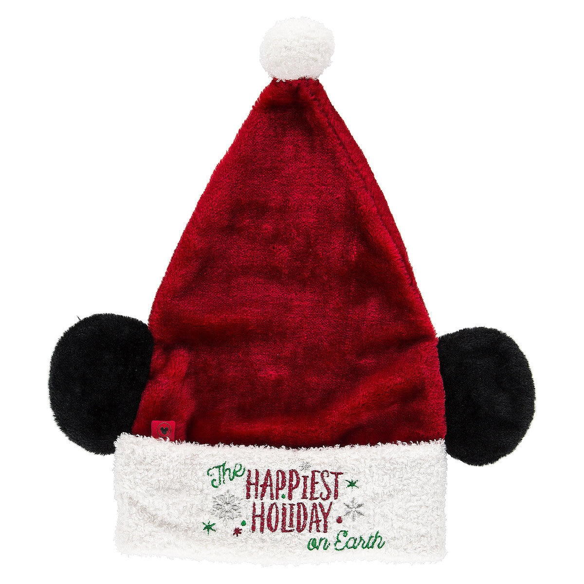 65bf4c0875636 Disney Santa Hat - Santa Mickey Mouse Ear Hat - Happiest Holiday