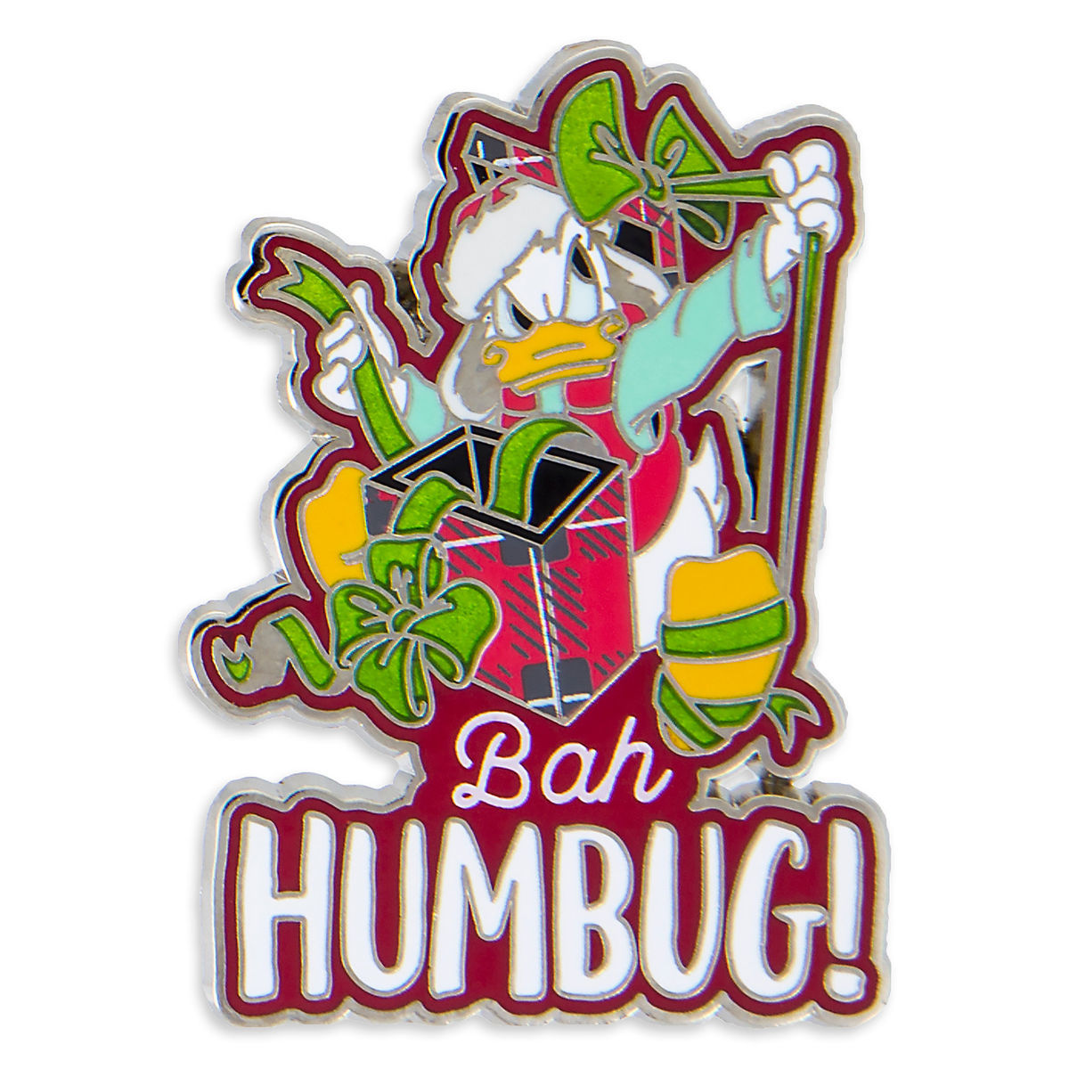 Disney Holiday Pin - Donald Duck Bah Humbug