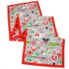 Disney Table Runner - Nordic Winter - Santa Mickey and Friends