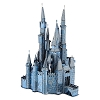 Disney 3D Model Kit - Metal Earth Park Icon - Cinderella Castle - Blue