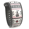 Disney MagicBand 2 Bracelet - Holiday Fantasyland Castle