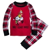 Disney Infant Pajama Set - Santa Mickey Bringing Gifts