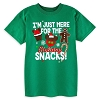 Disney CHILD Shirt - I'm Just Here for the Holiday Snacks Tee