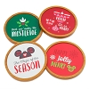 Disney Coaster Set - Nordic Winter Mickey Mouse Holiday Phrasing