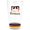 Disney Tumbler Glass - Epcot World Showcase - Germany - Prost!