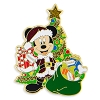 Disney Holiday Pin - Santa Mickey Mouse at Tree