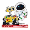 Disney Holiday Pin - WALL-E and EVE Happy Holidays