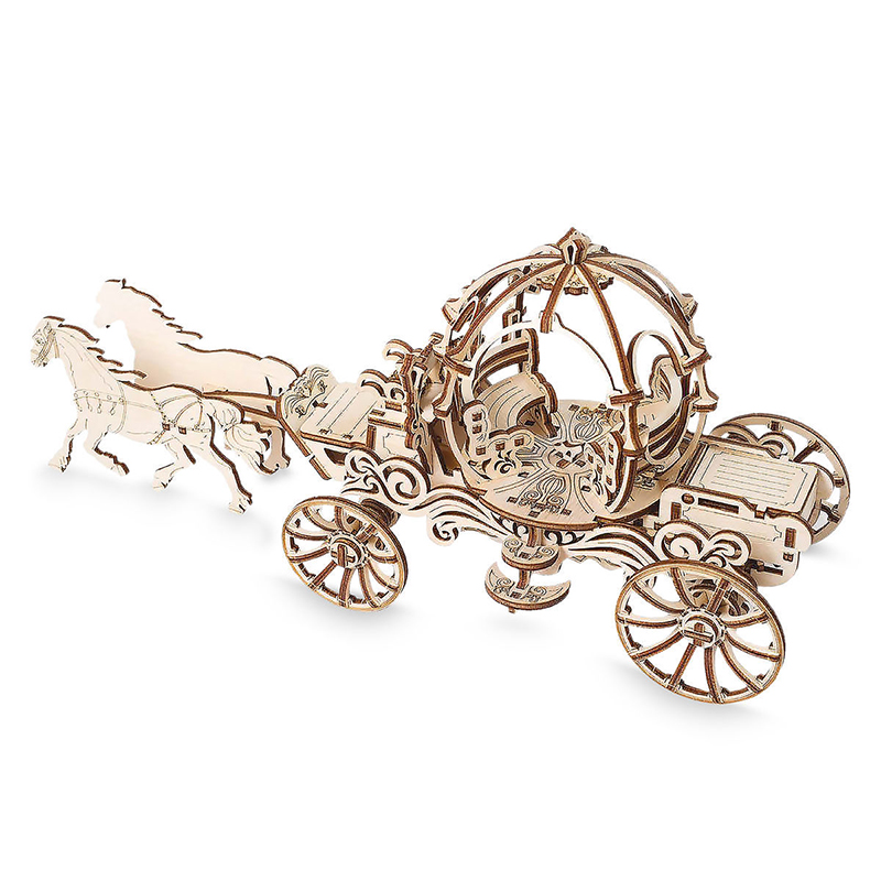Disney UGEARS Wooden Puzzle - Cinderella Carriage