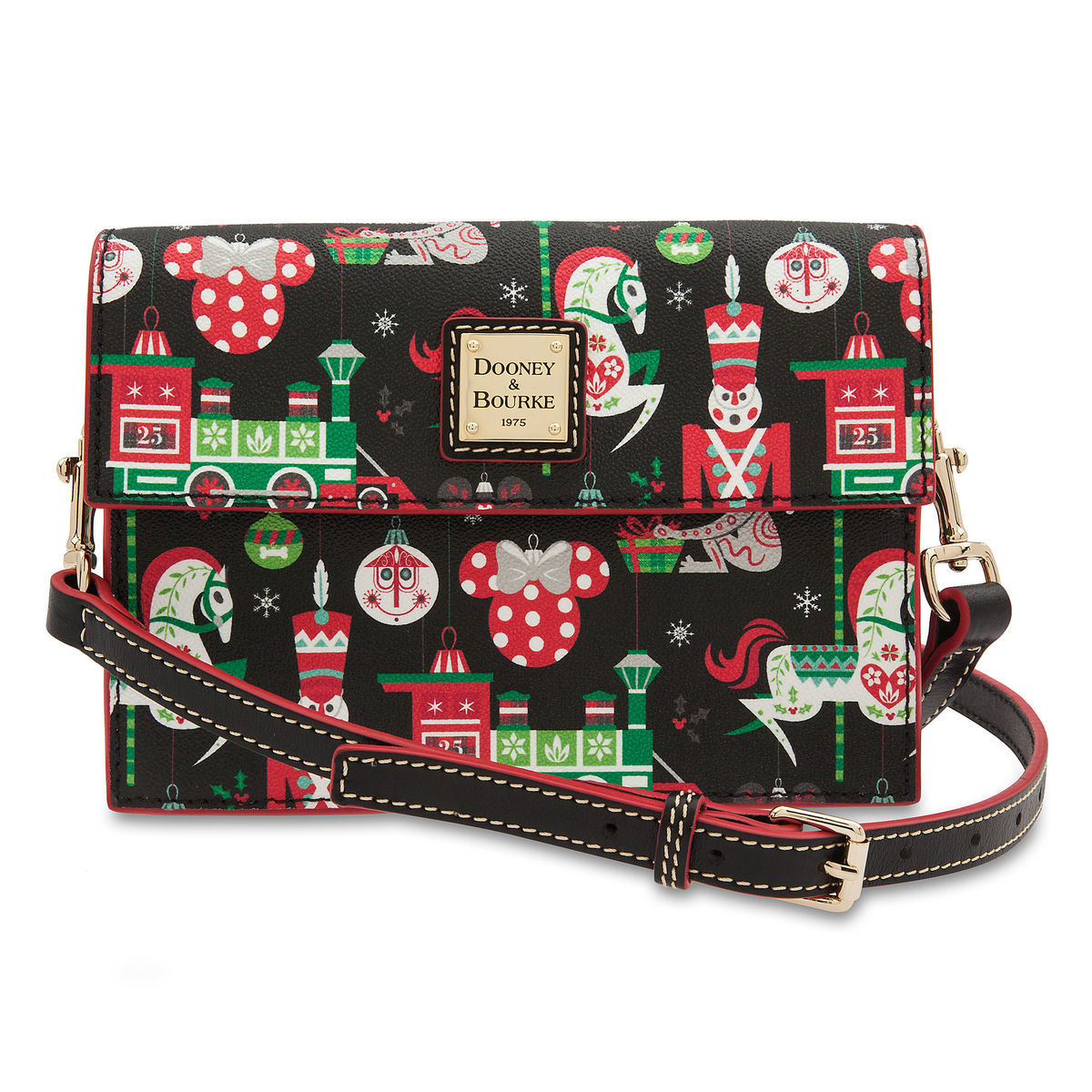 Disney Dooney & Bourke Bag - Disney Parks Holiday Crossbody - 2018