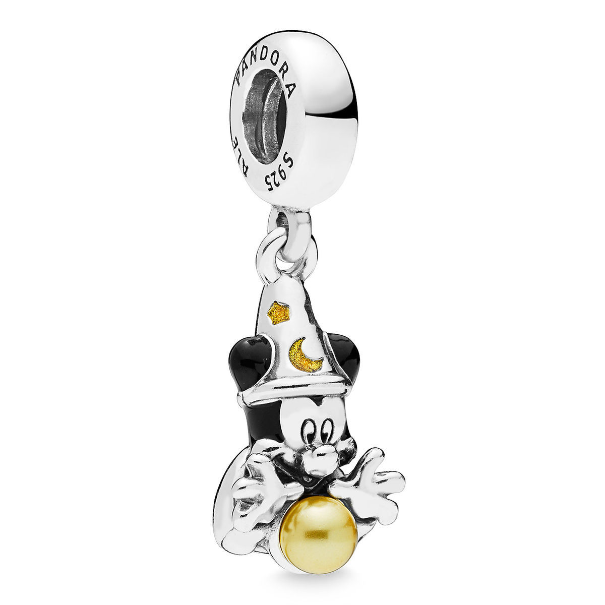 Disney PANDORA Charm - Sorcerer Mickey Mouse Dangle