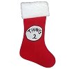 Universal Christmas Stocking - Dr. Seuss Thing 2