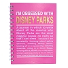 Disney Notebook - Disney Park Obsession