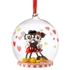 Disney Sketchbook Ornament - Mickey & Minnie Glass Globe