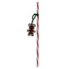 Disney Straw - Holiday - Gingerbread Man Straw