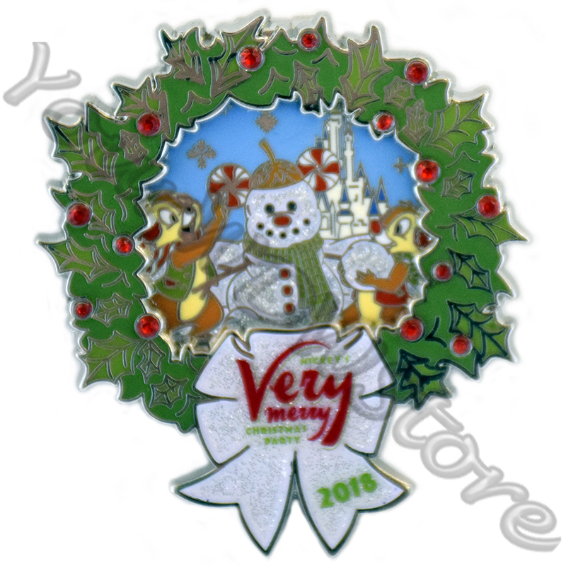 Very Merry Christmas.Disney Very Merry Christmas Party Pin 2018 Chip Dale