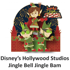 Disney Holiday Pin - 2018 Jingle Bell Jingle Bam! - Prep and Landing