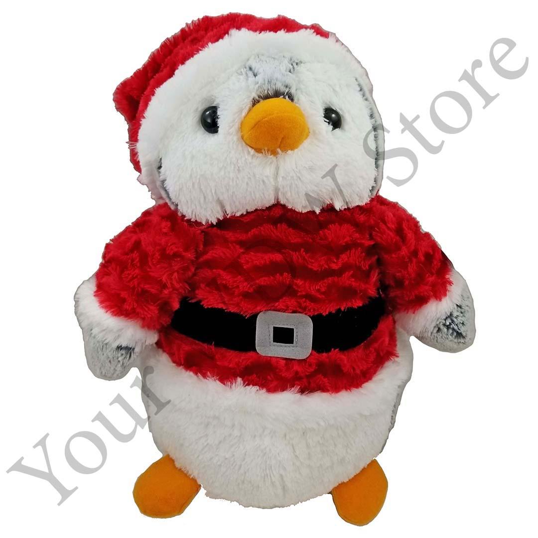 Seaworld Plush Santa Penguin
