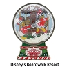 Disney Gingerbread House Pin - 2018 Beach Club Resort - Donald and Daisy