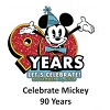 Disney Mickey Pin - Mickey's 90th Birthday