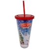 SeaWorld Tumbler with Straw - Rudolph the Red Nosed Reindeer