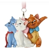 Disney Figure Ornament - The Aristocats - Marie Toulouse and Berlioz