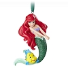 Disney Figure Ornament - The Little Mermaid - Ariel and Flounder