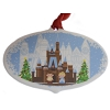 Disney Disc Ornament - 2018 Contemporary Resort Gingerbread Scene
