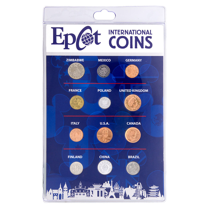 Epcot International Coins Set - 2nd Ed.