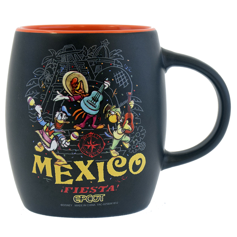 Disney Coffee Cup - EPCOT World Showcase - Mexico - Fiesta