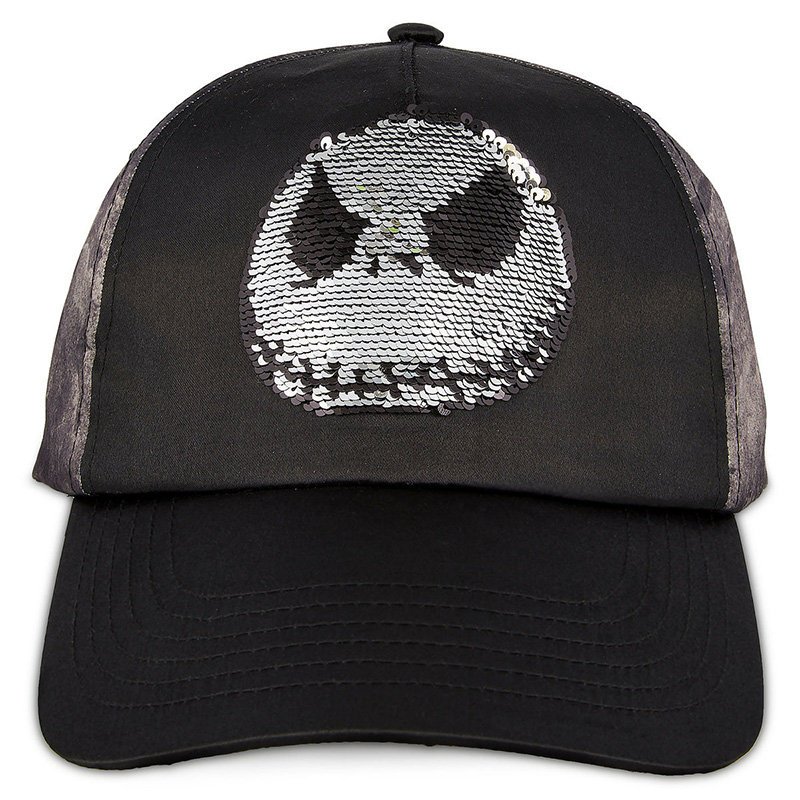Disney Baseball Cap - Jack Skellington - Reversible Sequin