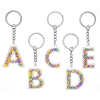 Disney Initial Keyring - Mickey Icons - Plastic - Assorted