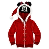 Disney Child Hoodie - Fleece Minnie Mouse - Christmas