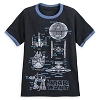 Disney Boy's Shirt - Star Wars Blueprint Ringer