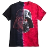 Disney Adult Shirt - Darth Vader Split Tie-Dye Tee