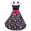 Disney Dress Shop Dress - Holiday Dress and Stole