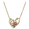 Disney Arribas Necklace - Beauty and the Beast with Rose