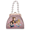 Disney Handbag Bag - Princess Small Handbag Bead Handle