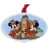 Disney Disc Ornament - 2018 Grand Floridian Gingerbread Scene