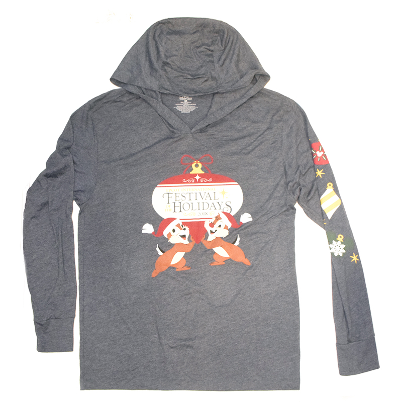 Disney Adult Shirt - Festival Of The Holidays 2018 - Chip and Dale Hoodie
