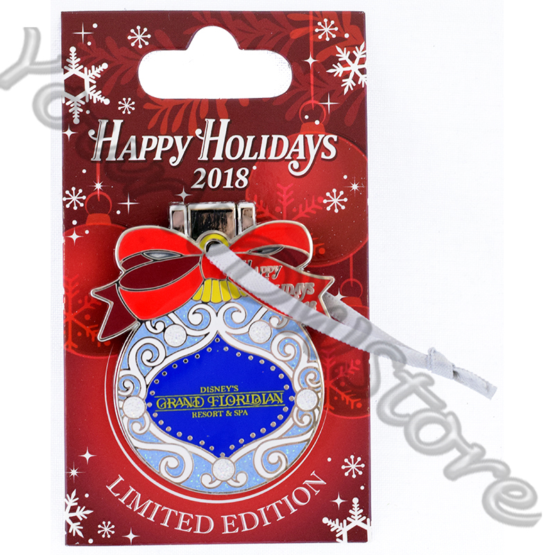 Disney Resort Holidays Pin 2018 - Grand Floridian Minnie Poppins