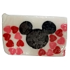 Disney Basin Soap - Valentine Hearts - Large Mickey Icon